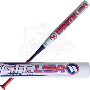2017 Worth Legit USA XL Border Battle Slowpitch Softball Bat End Loaded ASA WBBLGA