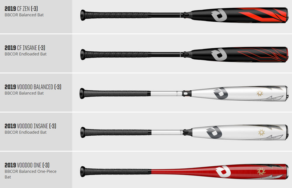 2019 DeMarini BBCOR Bats