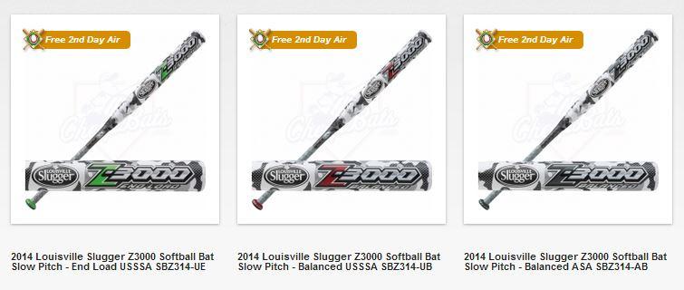 Louisville Slugger - 2014 Z-3000 from Cheapbats.com