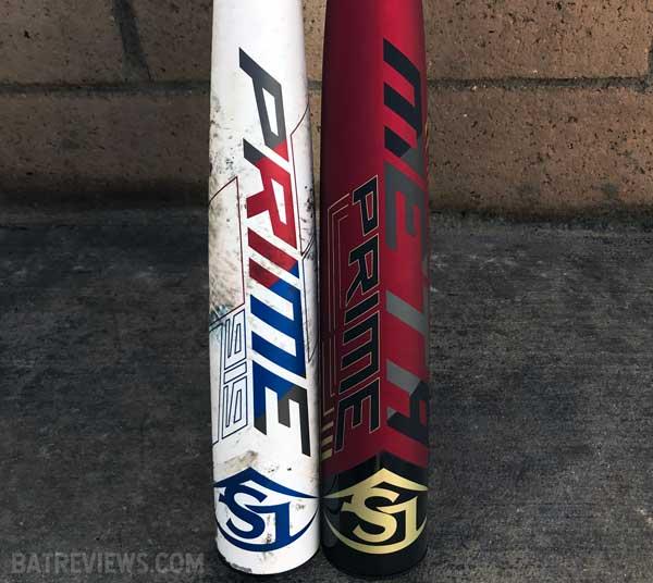 2019 Louisville Slugger Prime compared to meta prime bbcor baseball bat