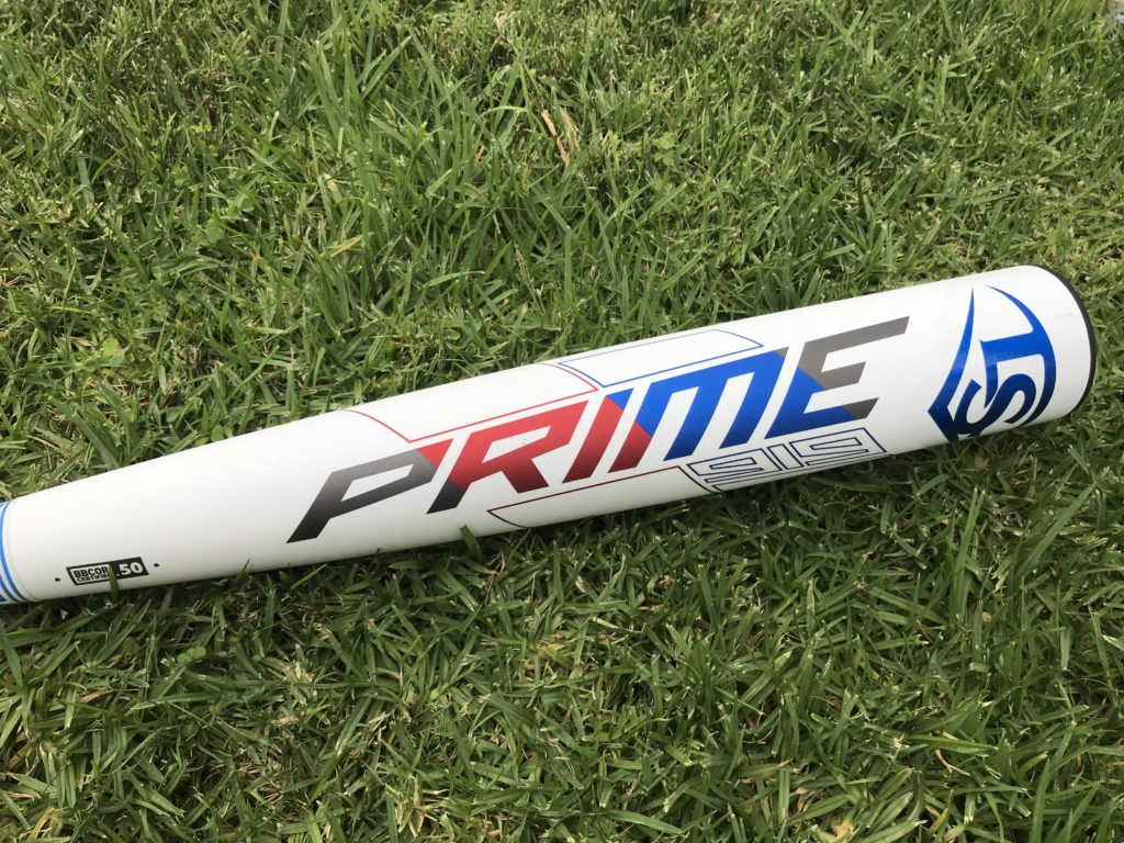 2019 Louisville Slugger Prime BBCOR Baseball Bat